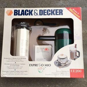 Black & Decker Espresso Mio EE200 Brand New in Box